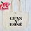 Thumbnail: Guns N Rose Organic Marina Tote