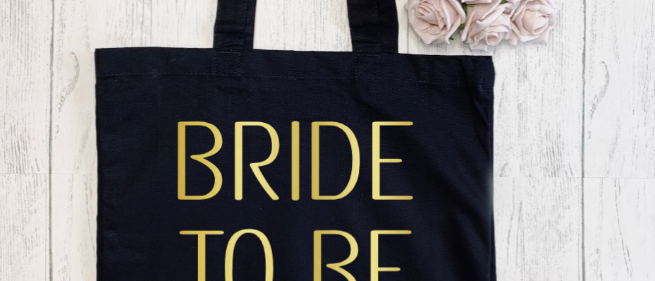Bride To Be Love Arrow Canvas Classic Shopper