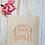 Thumbnail: Teaching Work Of Heart Canvas Classic Shopper