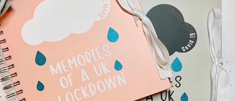 UK Lockdown Memories Ribbon Tie Book