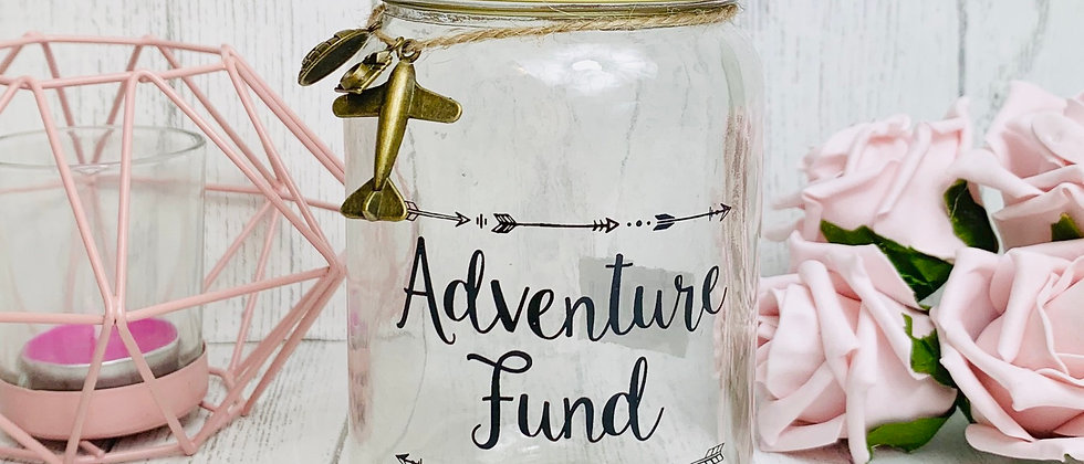 Adventure Fund Money Box Saving Jar