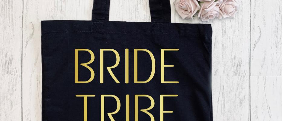 Bride Tribe Love Arrow Canvas Classic Shopper