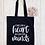 Thumbnail: Big Heart Little Minds Teacher Canvas Classic Shopper