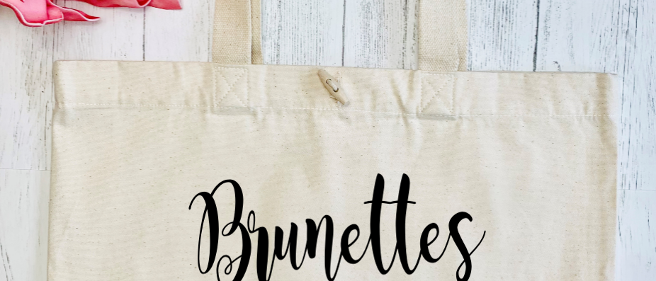Brunettes Do It Better Organic Marina Tote