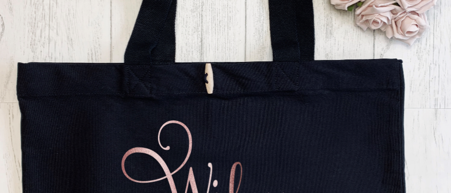 Wifey Since Bridal Hen Party Organic Marina Tote