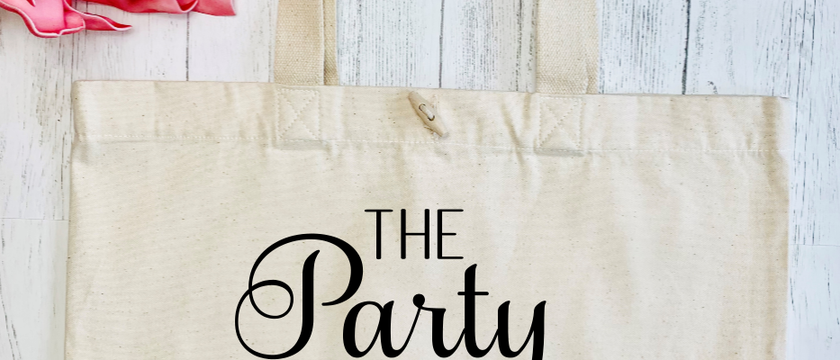 The Party Hen Party Organic Marina Tote