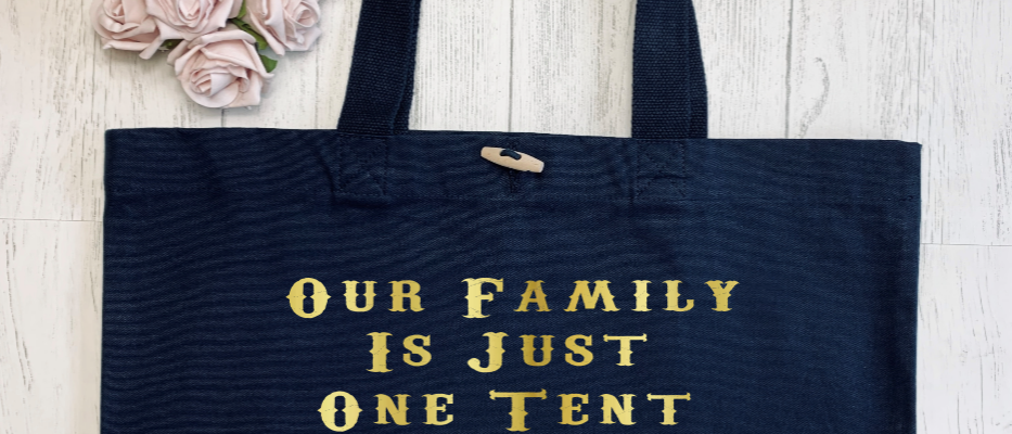 Our Family Circus Organic Marina Tote