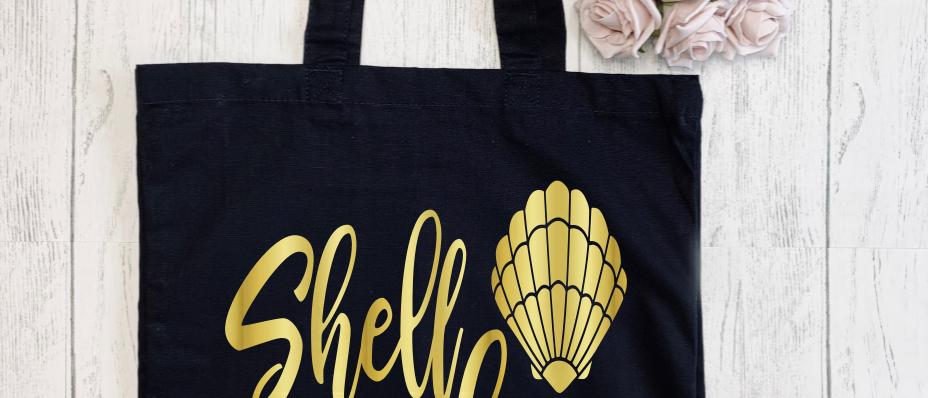 Shell Yeah Canvas Classic Shopper