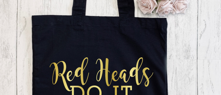 Red Heads Do It Better Canvas Classic Shopper