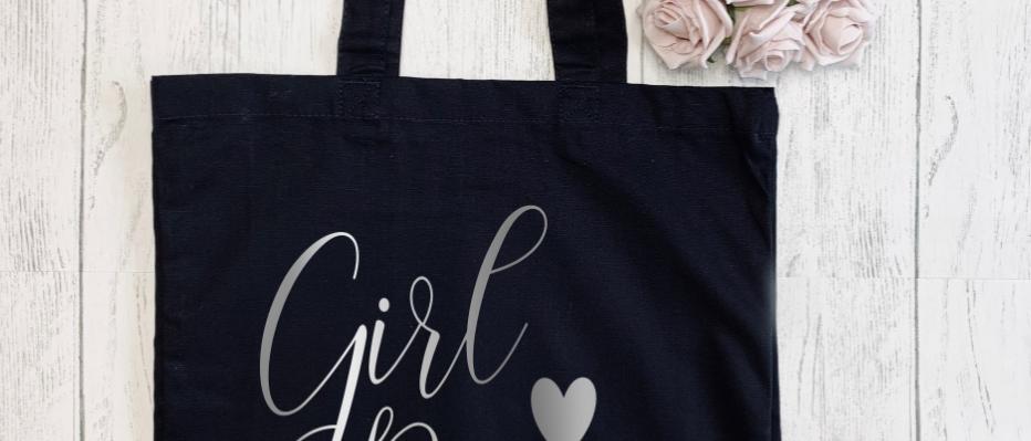 Girl Power Canvas Classic Shopper