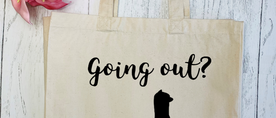 Going Out? Alpaca Bag! Canvas Classic Shopper