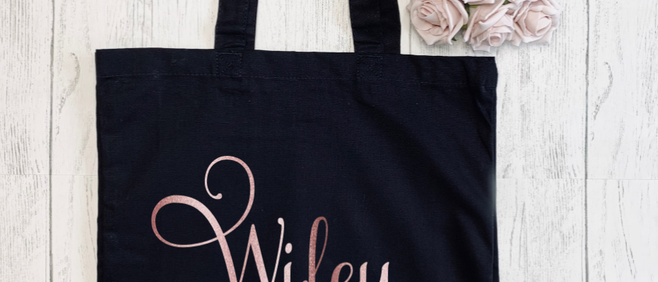 Personalised Wifey Since Canvas Classic Shopper