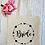 Thumbnail: Bride Love Circle Canvas Classic Shopper