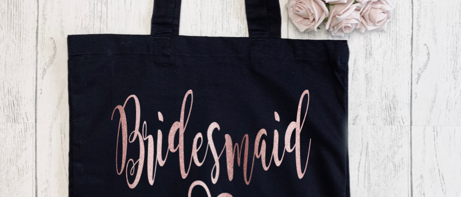 Personalised Bridesmaid Hen Party Canvas Classic Shopper