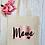 Thumbnail: Brush Stroke Mama Canvas Classic Shopper