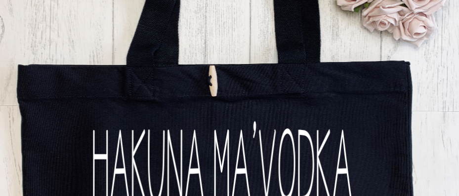 Hakuna Ma Vodka Organic Marina Tote