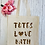 Thumbnail: Personalised Totes Love Canvas Classic Shopper