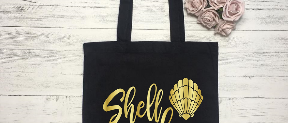 """Shell Yeah """"Bag For Life"""" Tote"""