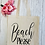 Thumbnail: Beach Please Canvas Classic Shopper
