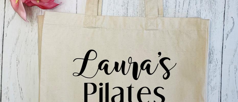 Personalised Yoga Pilates Hotpod Essentials Canvas Classic Shopper