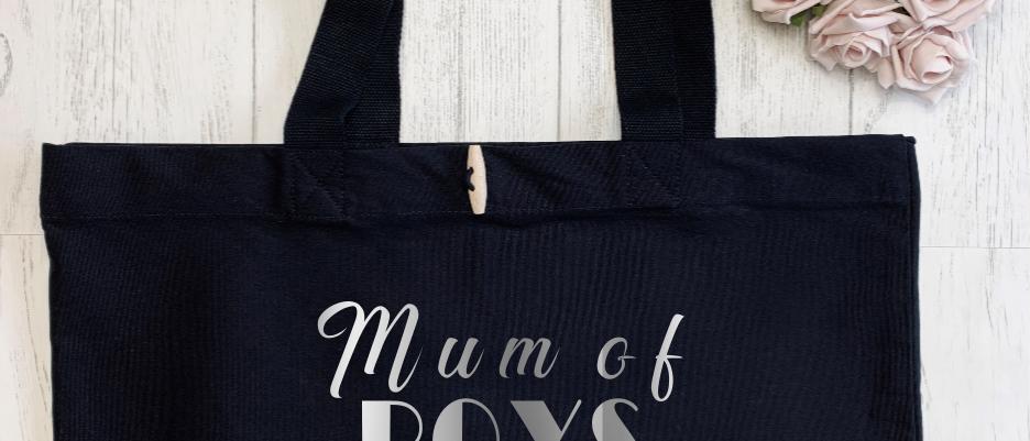 Mum of Boys Organic Marina Tote