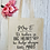 Thumbnail: Personalised Teacher Big Heart Little Minds Canvas Classic Shopper