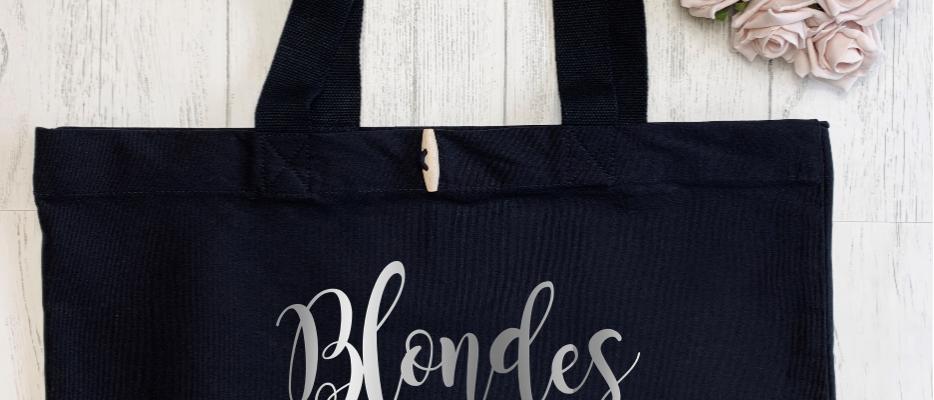 Blondes Do It Better Organic Marina Tote