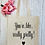 Thumbnail: You're, Like, Really Pretty! Canvas Classic Shopper