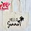 Thumbnail: Hello Summer Organic Marina Tote