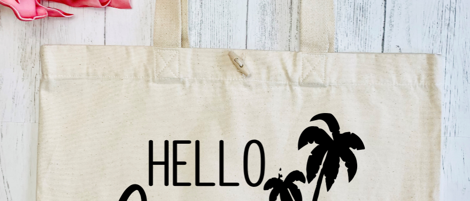 Hello Summer Organic Marina Tote