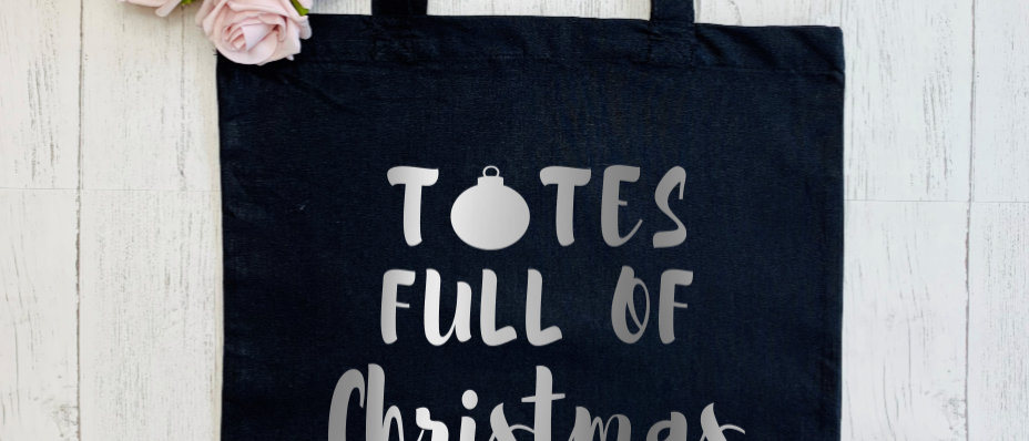 "Totes Full Of Christmas Shopping ""Bag For Life"" Tote"