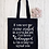 Thumbnail: See Me Eating Salad Canvas Classic Shopper