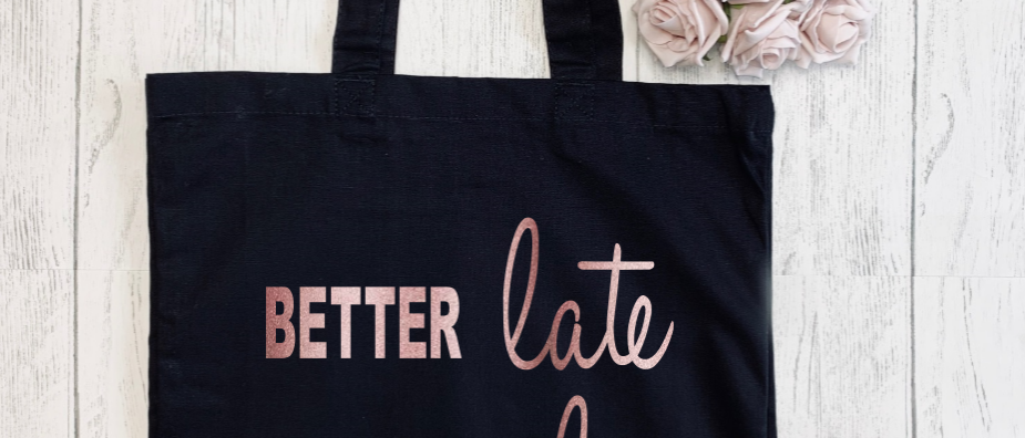 Better Late Than Ugly Canvas Classic Shopper