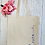 Thumbnail: Personalised Name Canvas Classic Shopper