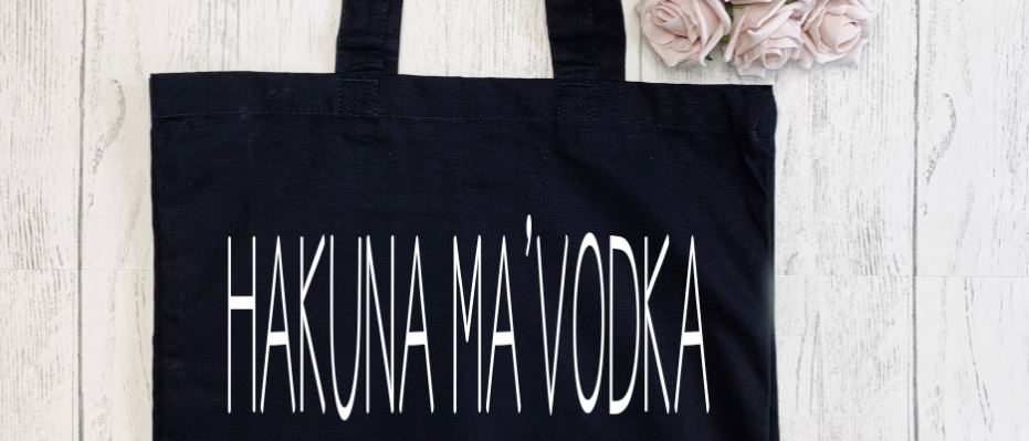 Hakuna Ma'Vodka Canvas Classic Shopper