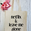 Thumbnail: Netflix & Leave Me Alone Canvas Classic Shopper