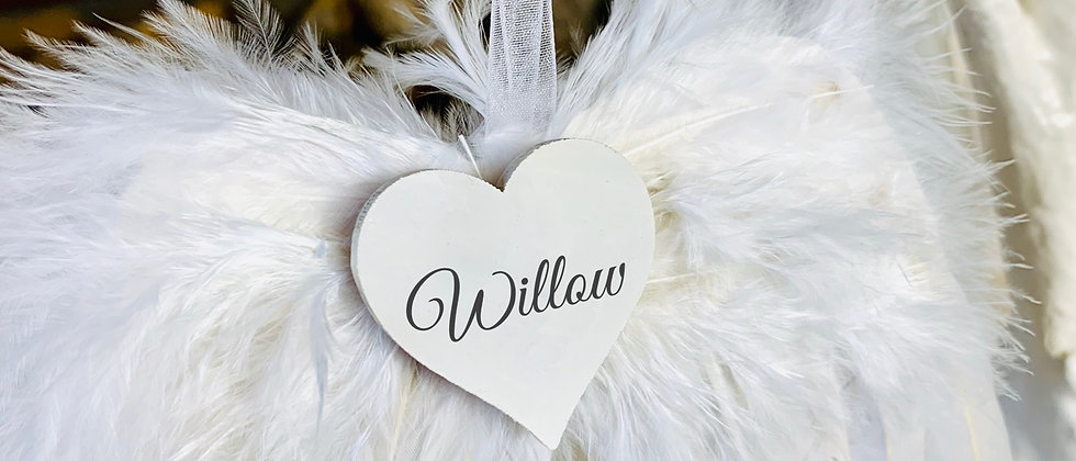 Personalised Angel Feather Wings