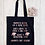 Thumbnail: Mummy's Going On A Wine Hunt Canvas Classic Shopper