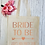 Thumbnail: Bride To Be Love Arrow Canvas Classic Shopper