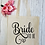 Thumbnail: Bride To Be Canvas Classic Shopper