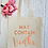 Thumbnail: May Contain Alcohol Prosecco Vodka Canvas Classic Shopper