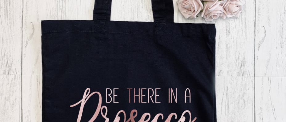 Be There In A Prosecco Canvas Classic Shopper