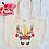 Thumbnail: Christmas Shopping Unicorn Reindeer Organic Marin