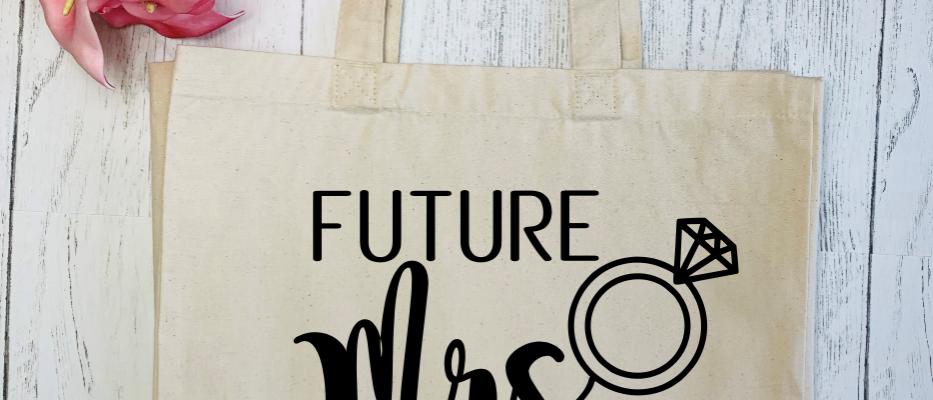 Personalised Future Mrs Engagement Wedding Canvas Classic Shopp