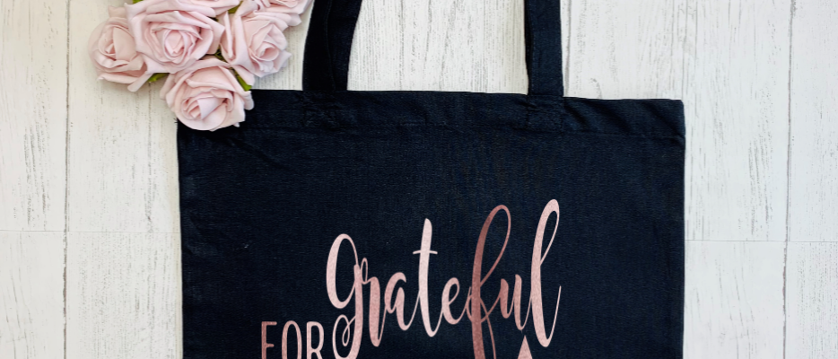 """Grateful For My Tribe """"Bag For Life"""" Tote"""