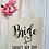 Thumbnail: Personalised Bride Hen Party Canvas Classic Shopper