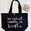 Thumbnail: My Spirit Animal Is Alcohol Organic Marina Tote