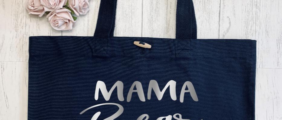 Mama Bear Claw Organic Marina Tote