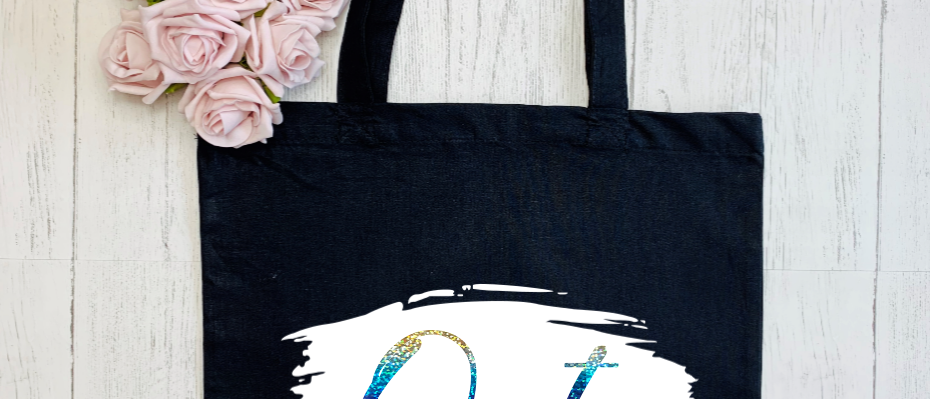 """Brush Stroke Out LGBTQ """"Bag For Life"""" Tote"""