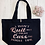 Thumbnail: I Won't Quit But I Might Cuss Fitness Workout Exercise Organic Marina Tote